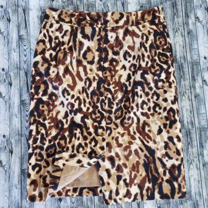 Merona leopard print pencil skirt